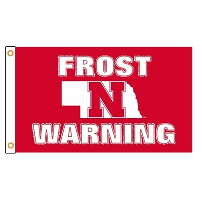 Picture of NU Frost Warning 3' x 5' Sublimated Flag