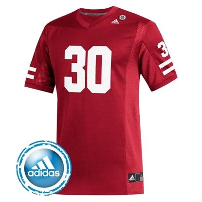 Picture of Nebraska Adidas® #30 Replica Football Jersey