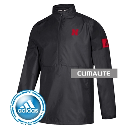 Picture of NU Adidas® Game Mode Long Sleeve Woven ¼ Zip Pullover