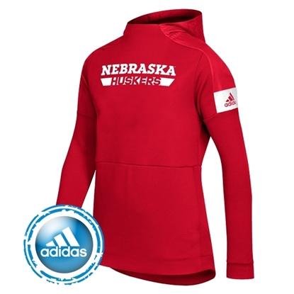 Picture of Nebraska Adidas® Ladies Game Mode Hooded Sweatshirt