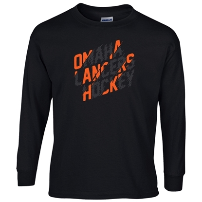 Picture of Omaha Lancers Youth Long Sleeve Shirt (LANCERS-226)