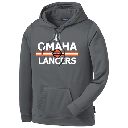 Picture of Omaha Lancers Performance Hooded Sweatshirt (LANCERS-235)