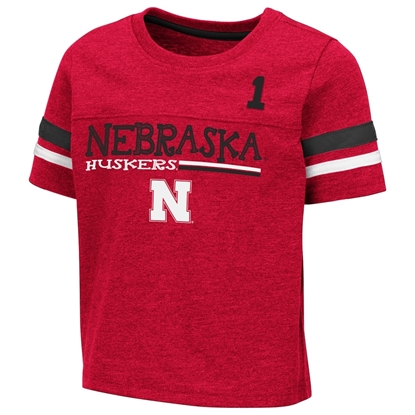 Picture of Nebraska Colosseum® Toddler Boys Boone Short Sleeve Shirt