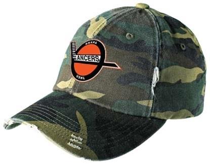 Picture of Retro Lancers Camo Distressed Adjustable Hat