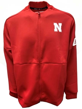 Picture of Nebraska Adidas® Game Mode Bomber Jacket
