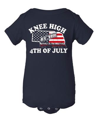 Picture of Knee High 4th of July Nebraska Onesie
