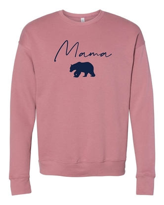 Picture of Mama Bear Sponge Fleece Crewneck Sweatshirt