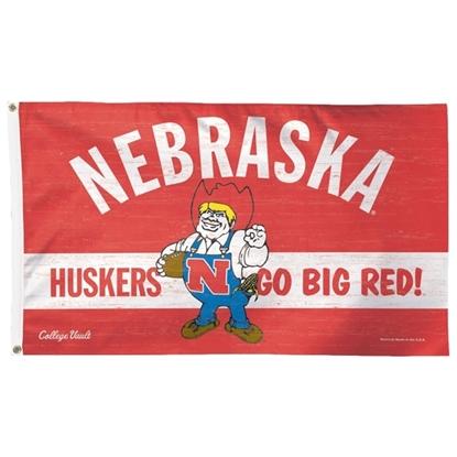 Picture of Nebraska 3' x 5' Herbie Flag