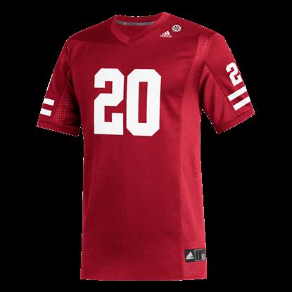 Picture of Nebraska Adidas® #20 Replica Football Jersey