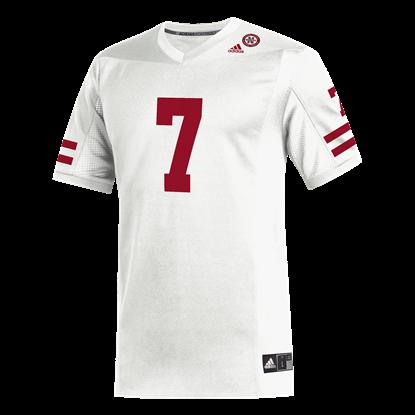 Picture of Nebraska Adidas® #7 Replica Football Jersey