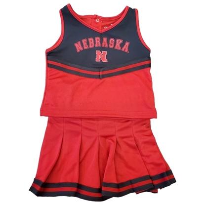 Picture of Nebraska Colosseum® Toddler Cheerleading Set