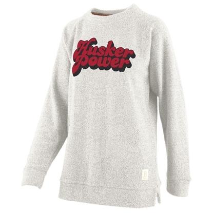 Picture of Nebraska Pressbox®  Ladies Retro Angie Sweatshirt