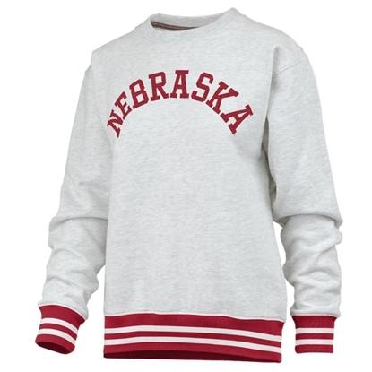 Picture of Nebraska Pressbox® Ladies Santa Clara Sweatshirt