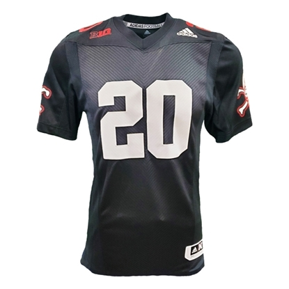Picture of Nebraska Adidas® #20 Replica Strategy Football Jersey