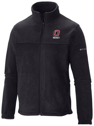 Picture of UNO Columbia® Flanker Fleece Full Zip Fleece Jacket Black