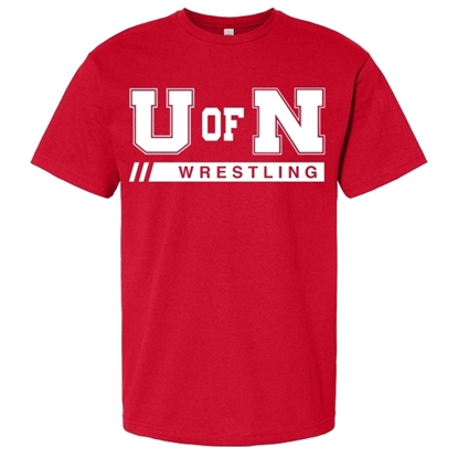 Picture of Nebraska Wrestling Short Sleeve Shirt (NU-251)