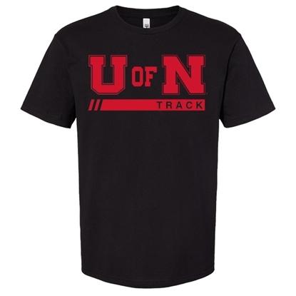 Picture of Nebraska Track Short Sleeve Shirt (NU-257)