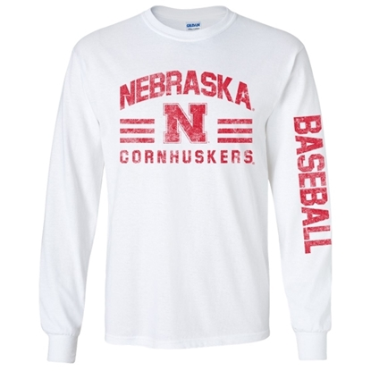 Picture of Nebraska Baseball Long Sleeve Shirt (NU-263)