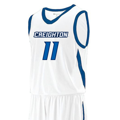 Picture of Creighton Prodigy #11 Youth Replica Basketball Jersey