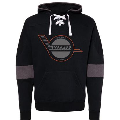 Picture of Lancers Sport Lace Colorblock Fleece Hooded Sweatshirt (Lancers-237)