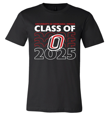 Picture of **PERSONALIZE WITH GRAD YEAR!** UNO Alumni Soft Cotton Short Sleeve Shirt  (UNO-088)