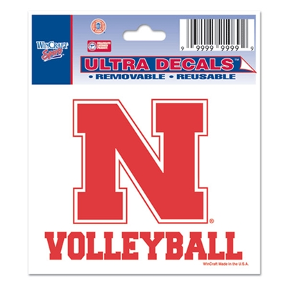 Picture of Nebraska VOLLEYBALL Decal