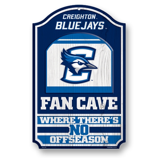 Picture of Creighton Fan Cave Sign