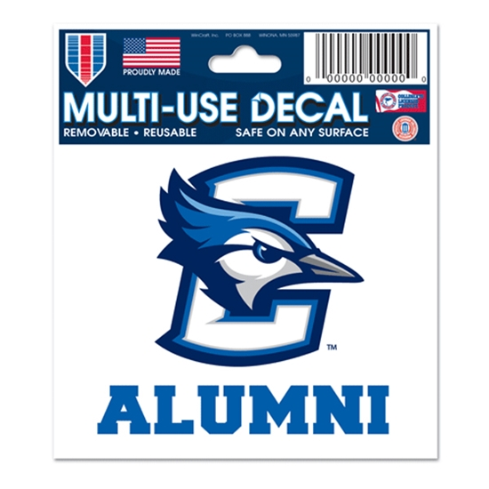 "Picture of Creighton ALUMNI 3"" x 4"" Multi-Use Decal"