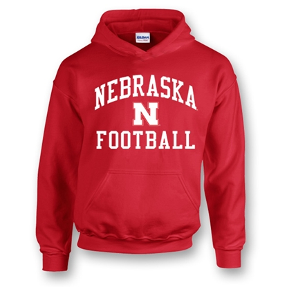 Picture of Nebraska Football Hooded Sweatshirt (NU-127)