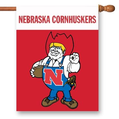 Picture of Nebraska Cornhuskers College Vault Banner Flag