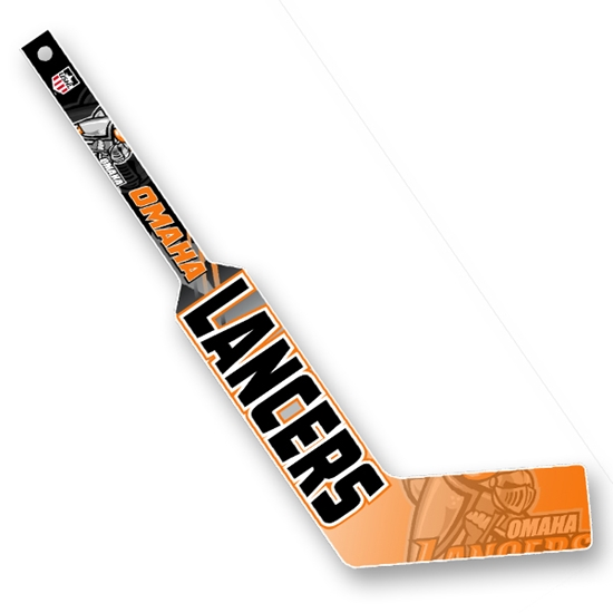 Picture of Omaha Lancers Mini Plastic Goalie Stick