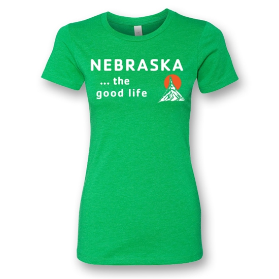Picture of Nebraska Good Life T-Shirt | Ladies