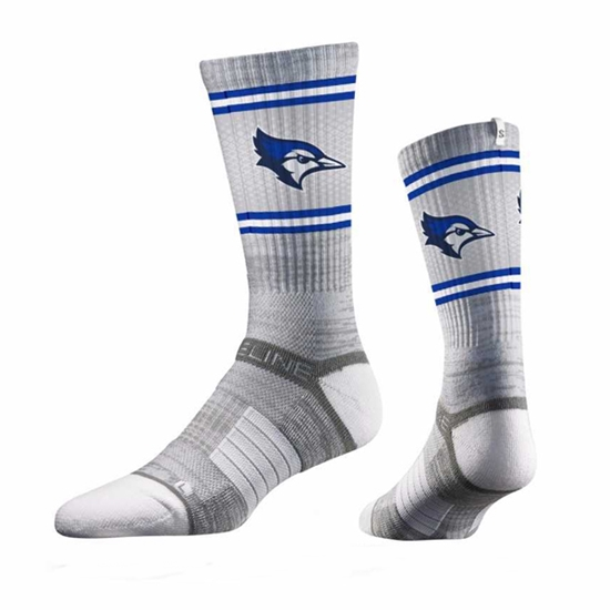 Picture of Creighton Strideline® Athletic Crew Socks