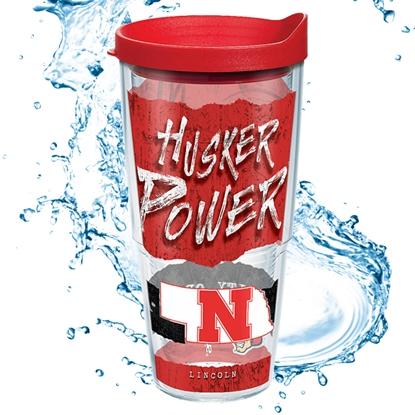 Picture of Nebraska 24oz Statement Wrap Tumbler