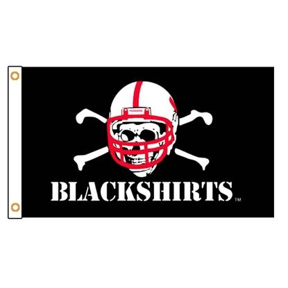 Picture of NU Blackshirts Flag