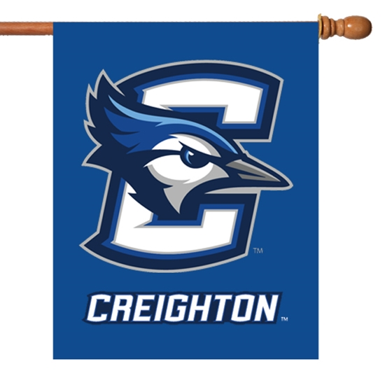 Picture of Creighton Bluejay Banner Flag