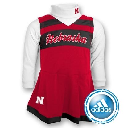 Picture of Nebraska Adidas® Cheerleading Jumper | Girls