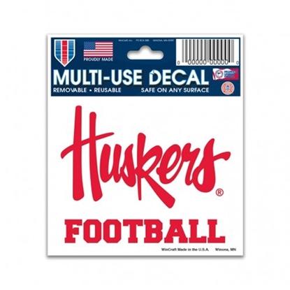 Picture of Nebraska FOOTBALL Decal