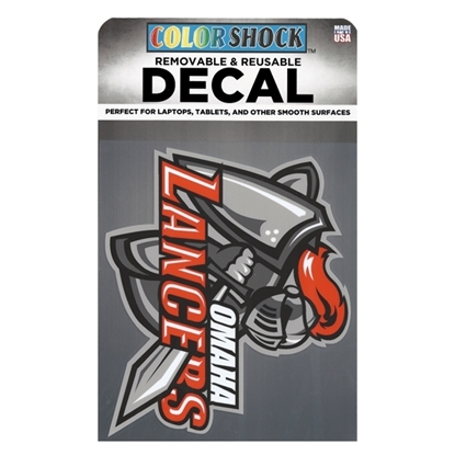 Picture of Omaha Lancers Color Shock™ Removable Decal