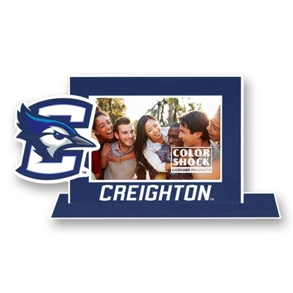 "Picture of Creighton 4"" x 6"" Standee Picture Frame"