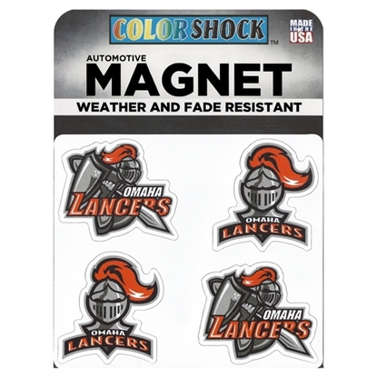 Picture of Omaha Lancers Color Shock™ Mini Magnets