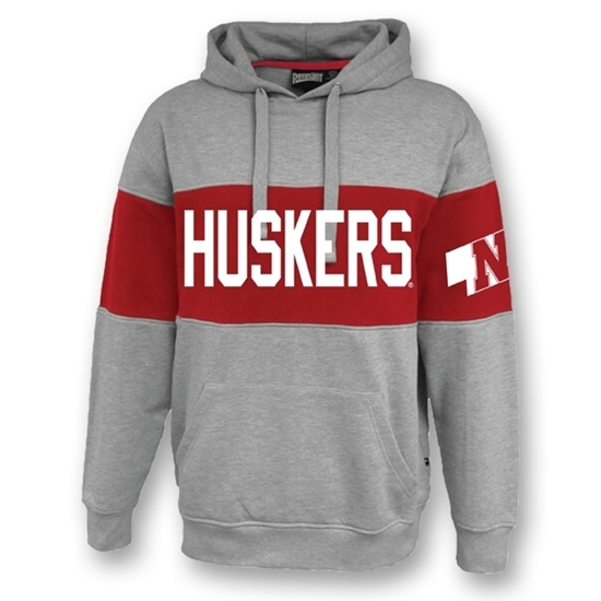 Picture of Nebraska Fleece Hooded Sweatshirt (NU-192)