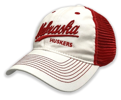 Picture of Nebraska EZA Twill Hat  | Snapback