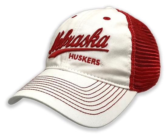 Picture of Nebraska EZA Twill Hat  | Snapback