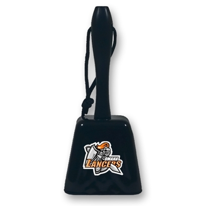 Picture of Omaha Lancers Cowbell w/ Handle