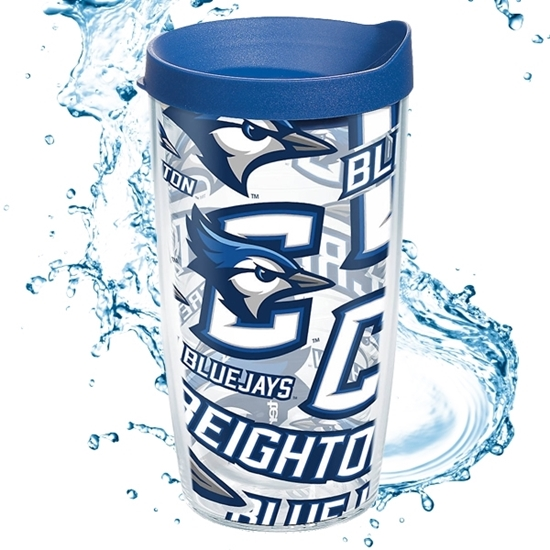 Picture of Creighton Tervis® 16oz All Over Wrap Tumbler
