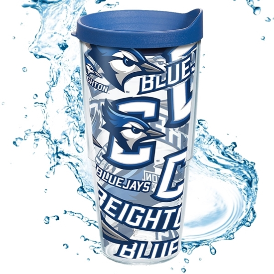 Picture of Creighton Tervis® 24oz All Over Wrap Tumbler