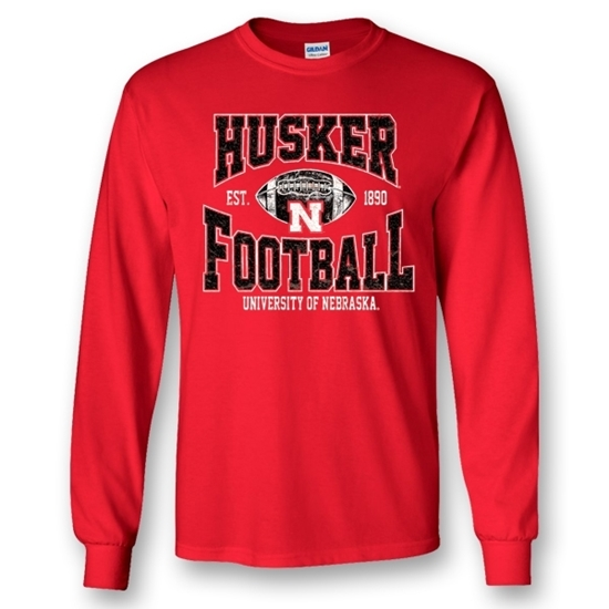 Picture of Nebraska Football Long Sleeve Shirt (NU-095)