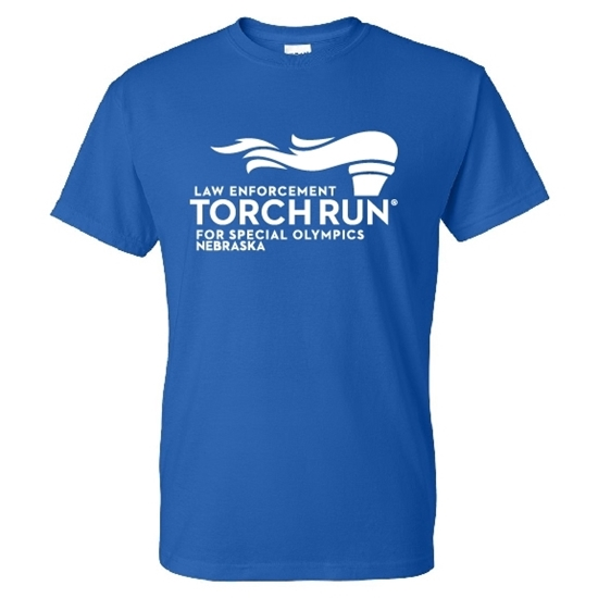 Picture of SONE - Law Enforcement Torch Run 50/50 T-shirt