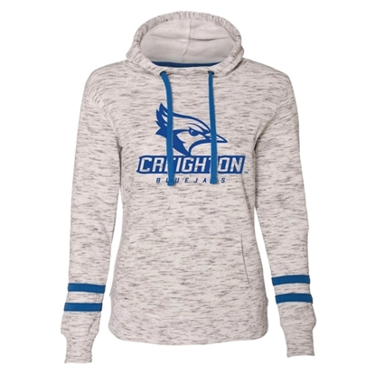Picture of Creighton Ladies Fleece Hooded Pullover (CU-178)